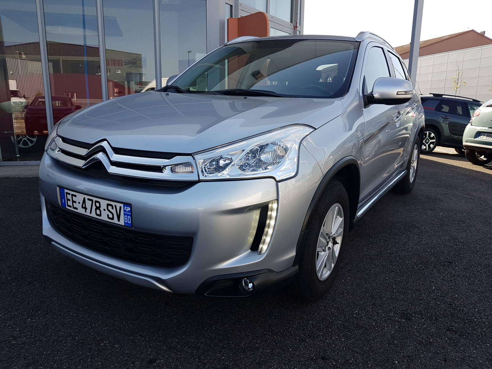 C4 aircross 1 6 e hdi115 4x2 feel edition launaguet - Garage avenue des etats unis toulouse ...