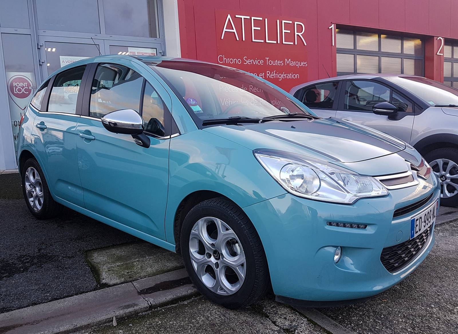 Citroen C3 Ii 1 2 Puretech 82 Cv Feel Edition Au Garage Ats A