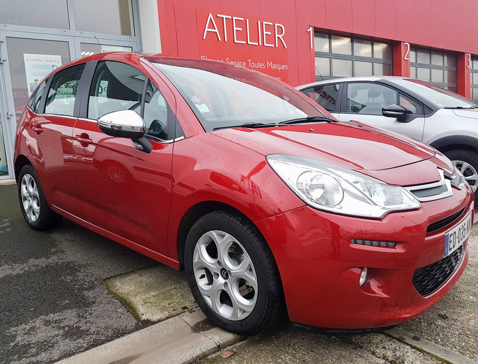 Citroen C3 1 2 Puretech 82 Cv Feel Edition Au Garage Ats A Launaguet