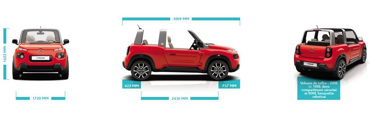 vente cabriolet e mehari citro n 4 places 100 lectrique toulouse vente de voiture d. Black Bedroom Furniture Sets. Home Design Ideas