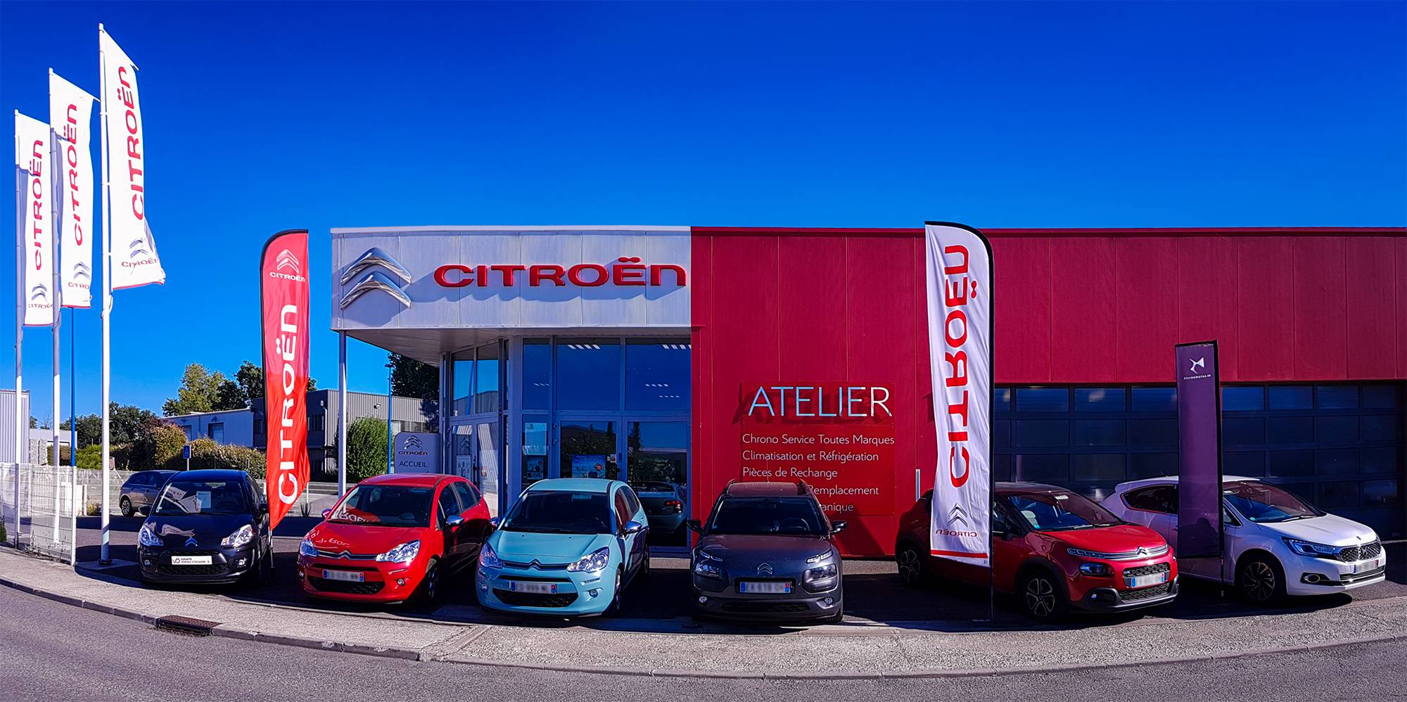 Vente de voiture neuve citro n launaguet garage ats for Garage citroen bourg de peage
